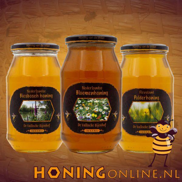 3 Smaken Honing Voordeelpakket