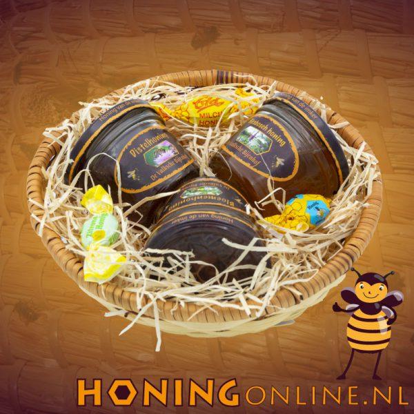 Cadeaupakket 3 soorten honing
