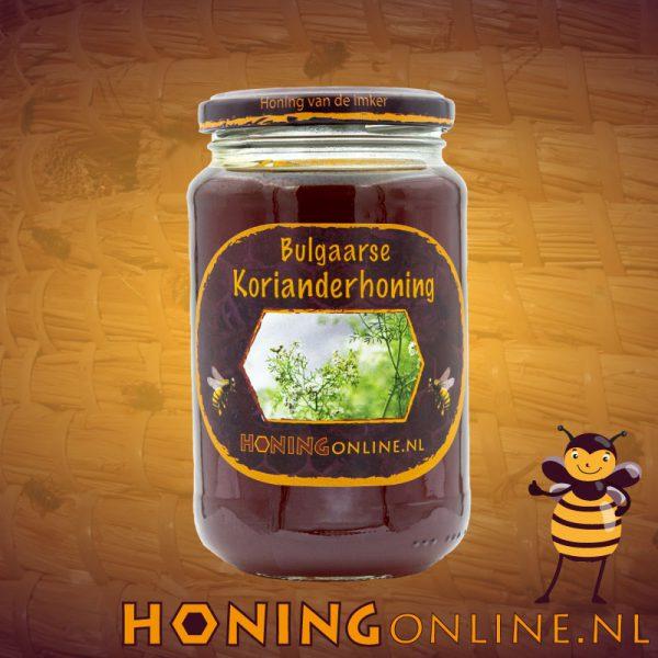 Koriander Honing Groot