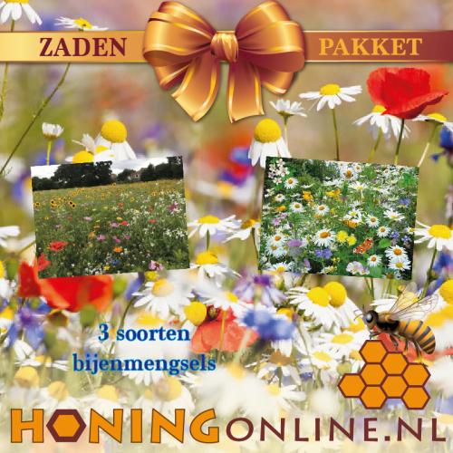 Zaden Pakket Met Bloemenmengsels Bestellen Bij De Imker