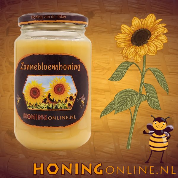 Zonnebloem Honing Groot